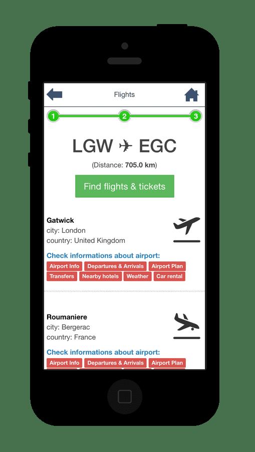 Airport Mobile App