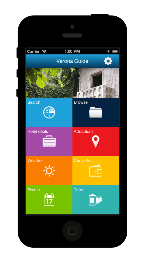 Smart Travel Guide App Mobile