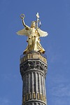 siegessäule, berlin, gold else