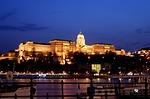 buda castle, danube river, budapest