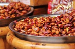 spicy, fried peanuts, dry chili