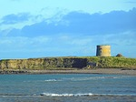 martello tower, shenick island, seascape