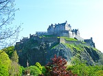 edinburgh, scotland, castle