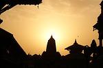 nepal, kathmandu, evening