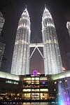 klcc, twin tower, city