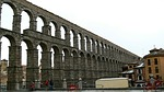aquaduct, segovia, spain