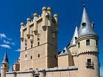 castle, alcazar, palace