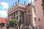 guanajuato, mexico, juarez theater
