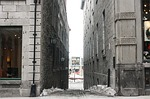 alley, path, city
