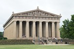 parthenon, park, architecture