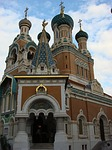 cathedral, nice, russian