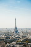 eiffel tower, paris, cityscape