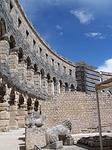 amphitheater, croatia, pula