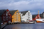 norwegian house, house, unique