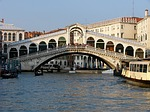 rialto bridge, canal, water