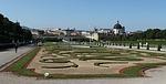 belvedere, gardens, vienna