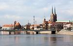 wroclaw, river, bridge