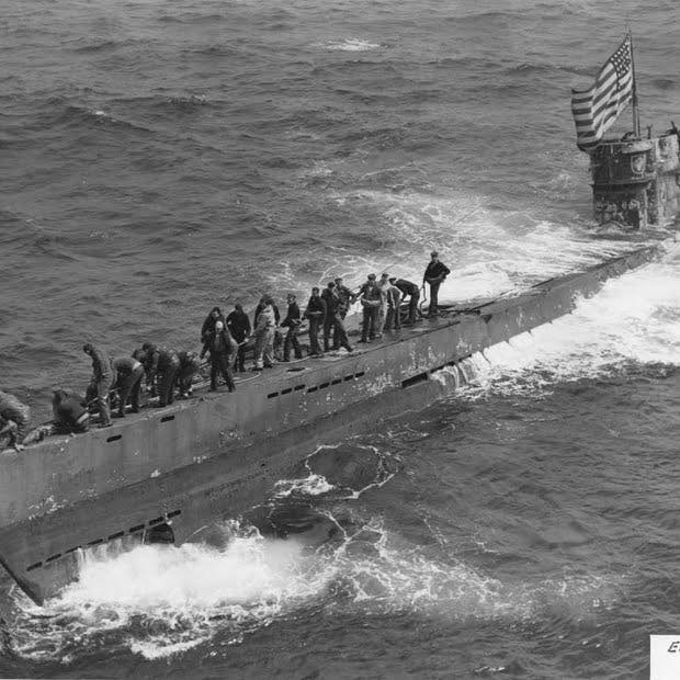German submarine U-505