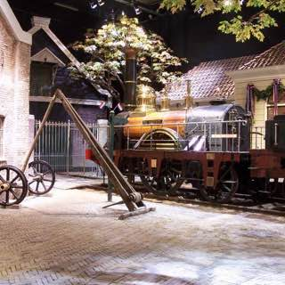 Railway Museum, netherlands , amsterdam