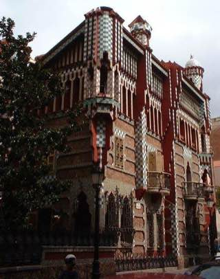 Casa Vicens, spain , barcelona