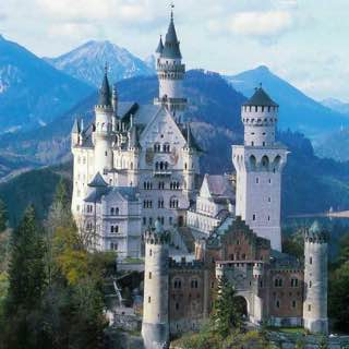 Neuschwanstein Castle, germany , bavarianalps