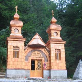 Russian Chapel, Vršič, slovenia , bledisland