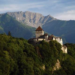 Vaduz Castle, austria , bregenz