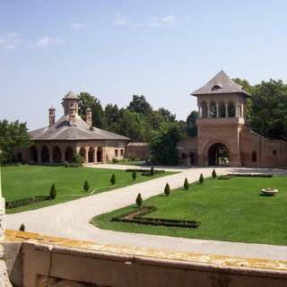 Mogoşoaia Palace, romania , bucharest