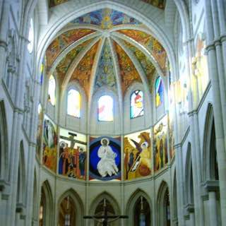 Almudena Cathedral, spain , centralspain