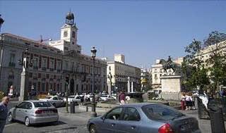 Puerta del Sol, spain , centralspain