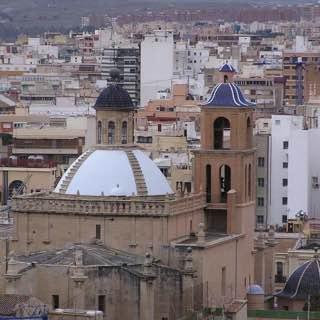 Concatedral de San Nicolás, Alicante, spain , costablanca