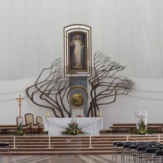 Divine Mercy Sanctuary, poland , cracow