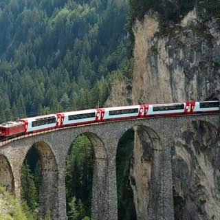 Albula Railway, switzerland , davos