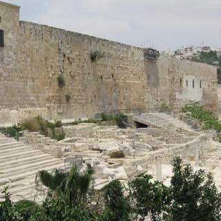 Southern Wall, israel , deadsea