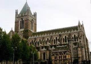 Christ Church Cathedral, Dublin, ireland , dublin