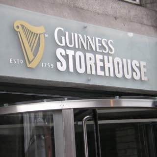 Guinness Storehouse, ireland , dublin