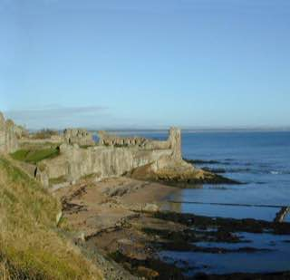 St Andrews Castle, scotland , dundee