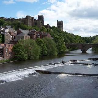 Durham Castle, uk , englandcentral