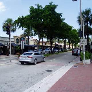 Las Olas Boulevard, usa , floridasouthern