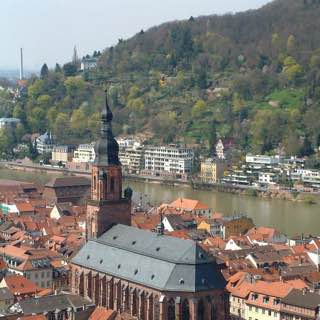 Church of the Holy Spirit, Heidelberg, germany , heidelberg