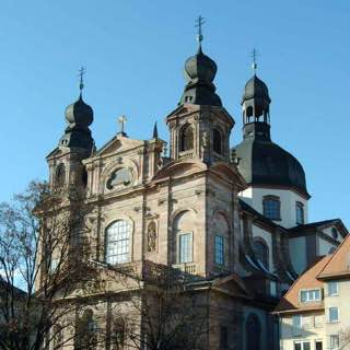 Jesuit Church, Mannheim, germany , heidelberg