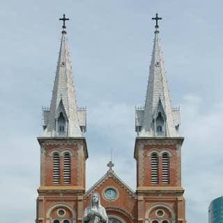 Saigon Notre-Dame Basilica, vietnam , hochiminh
