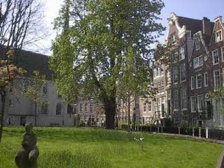 Begijnhof, Amsterdam, netherlands , hoorn