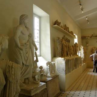 Archaeological Museum of Epidaurus, greece , hydra