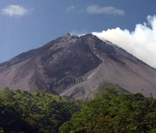 Mount Merapi, indonesia , java