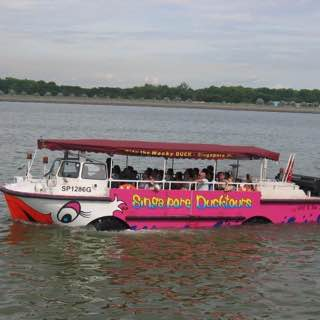 Duck tour, uk , jersey