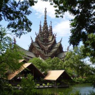Sanctuary of Truth, thailand , jomtien
