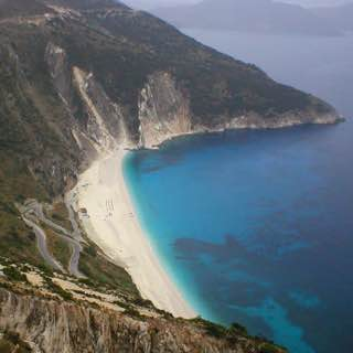 Myrtos Beach, greece , kefalonia