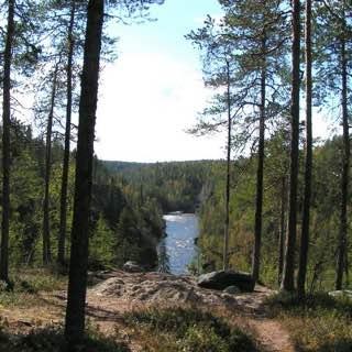 Oulanka National Park, finland , kuusamo