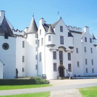 Blair Castle, scotland , luskentyrebeach